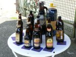 Products of brewery in Witnica